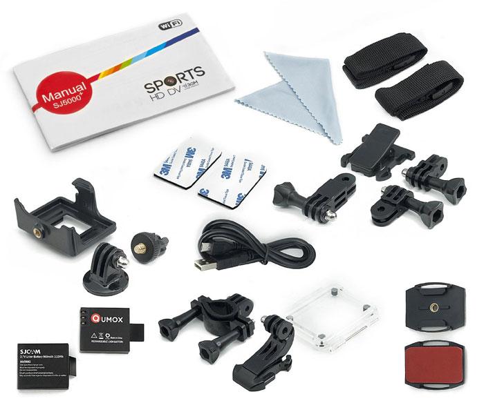 Zubehör Actioncam SJ5000 Plus