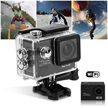 ELE CAM Explorer Elite Action Cam 4K - 12MP