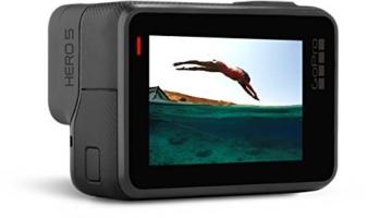 GoPro HERO5 Black Action Kamera Bildschrim
